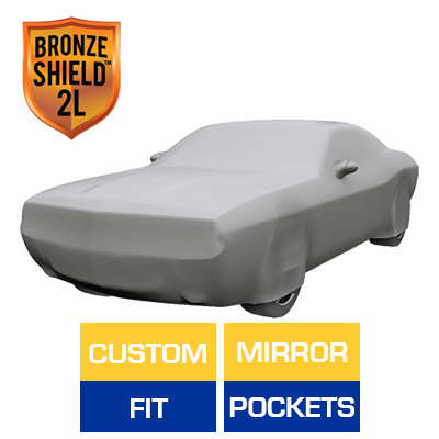 Bronze Shield 2L - Car Cover for Dodge Challenger 2014 Coupe 2-Door