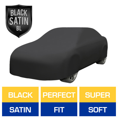 Black Satin BL - Black Car Cover for Buick Allure 2005 Sedan 4-Door