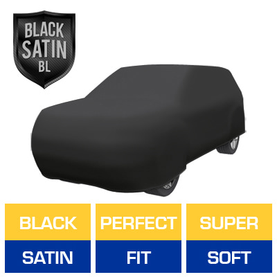 Satin Shield BL - Black Car Cover for GMC Yukon XL 2010 SUV 4-Door
