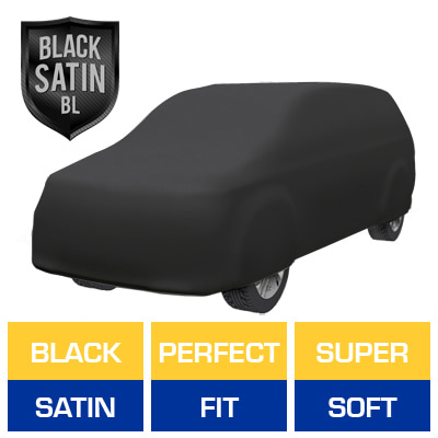 Satin Shield BL - Black Car Cover for Ford Aerostar 1991 Van
